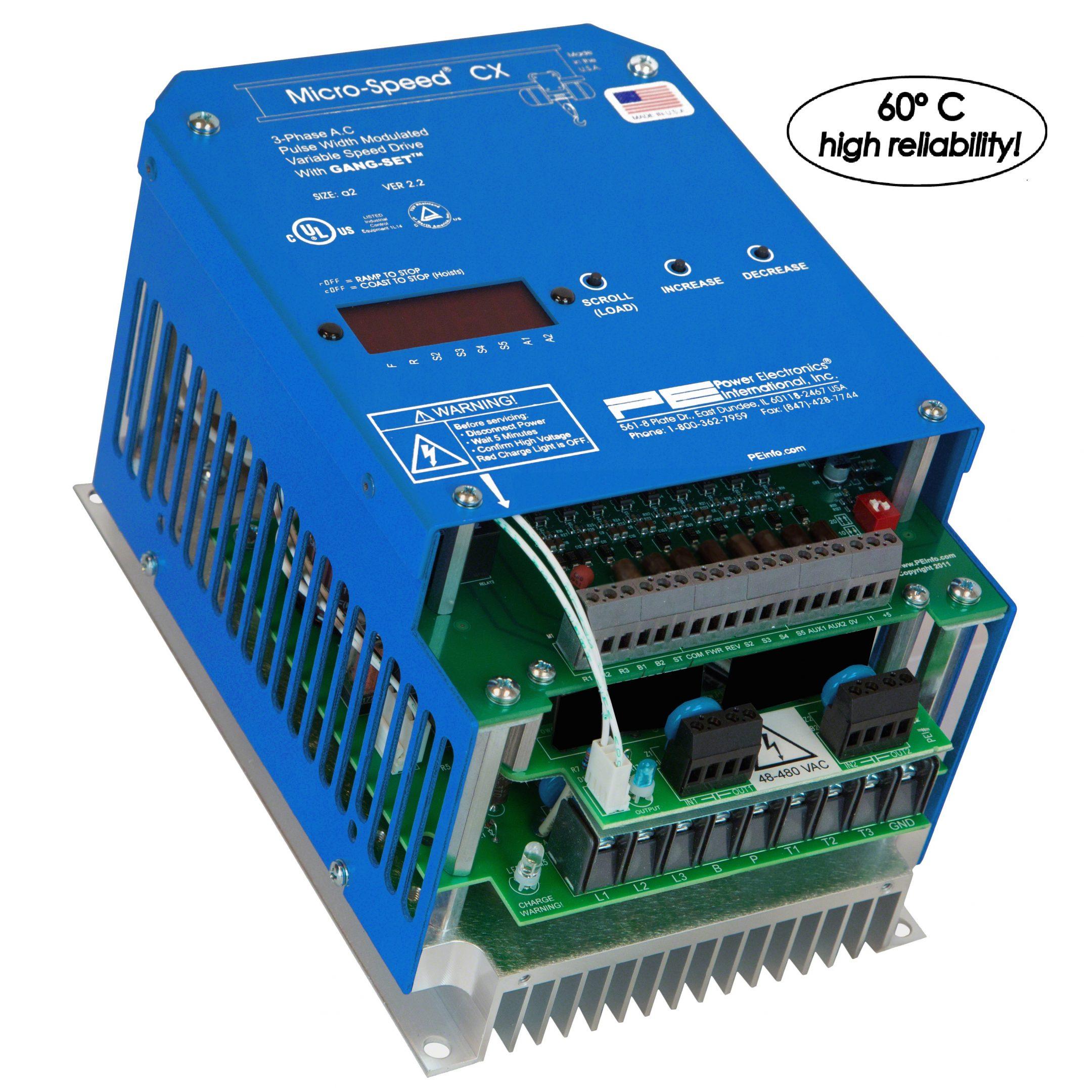 Micro-Speed CXRP (1-5 HP)