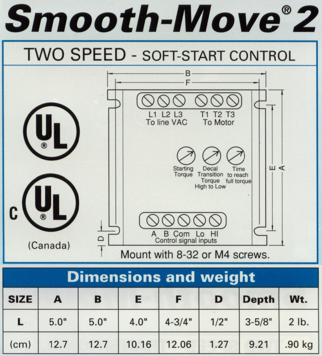 Smooth Move 2 4 8 Amps Power Electronics Phase Soft Start Schematic Get Free Image About Wiring Diagram Product Description